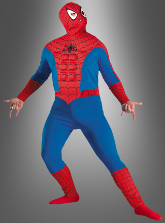 Marvel Spiderman Muskelkostüm