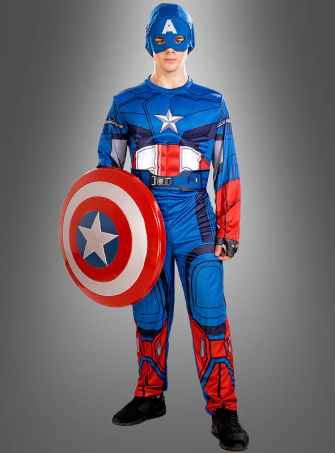 Captain America Movie Costume