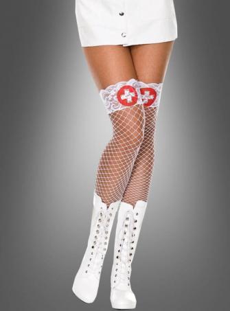 Nurse Net Thigh Hi