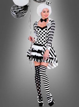Harlequin Lady Costume