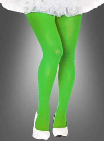 XXL Strumpfhosen neon grün
