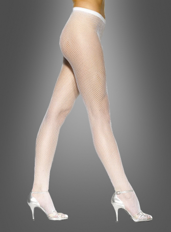 FISHNET TIGHTS WHITE
