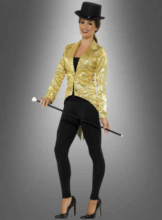 Showtime golden Tailcoat