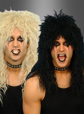 Adult  Heavy Metal Rockstar wig
