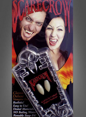 SCARECROW Classic Vampir Eckzähne