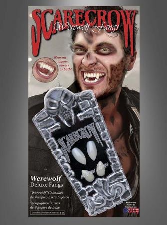 Werwolf Zähne Deluxe Scarecrow