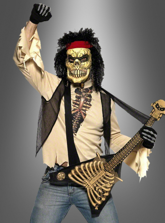 80s Zombie Rock Star Costume