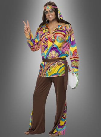 Hippie Kostüm für Männer