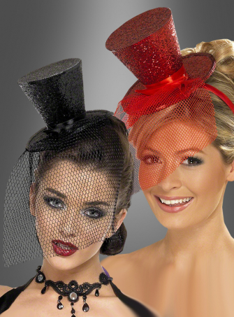 Mini top-hat glitter