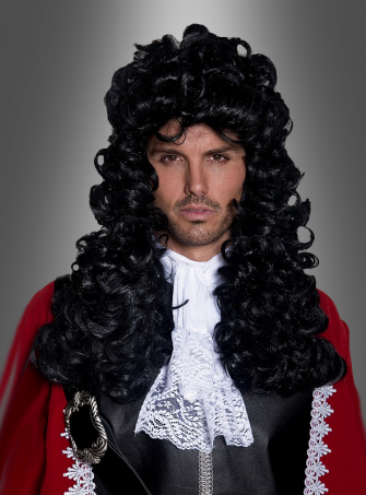 Authentic pirate wig long