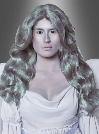Cemetery angel grey wig