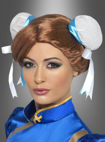Chun-Li Perücke Street Fighter