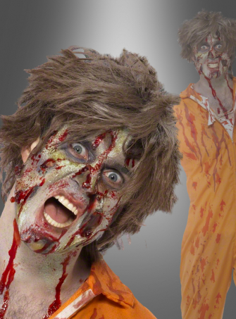 Zombie Latex Makeup Kit