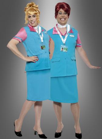 Flylo Check in Staff costume