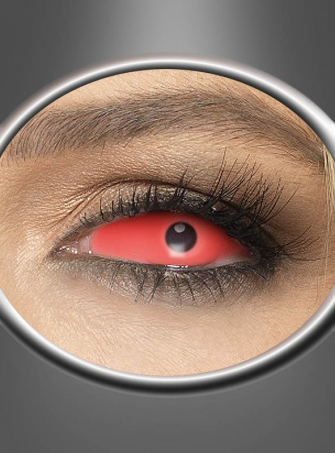 Sclera Contact Lenses red