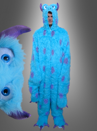 Blue Plush Monster Adult