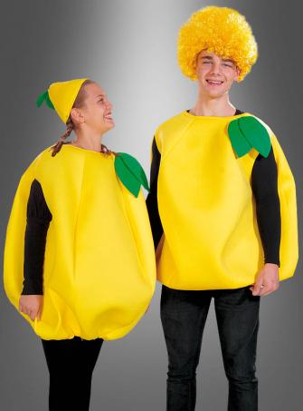 Zitrone Kostüm für Erwachsene unisex