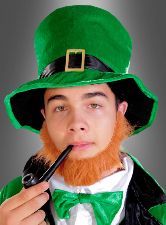 Green Leprechaun Top Hat