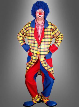 Lustiges Clownkostüm für Herren