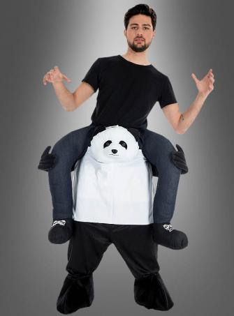 Karneval Kostüm Huckepack Panda