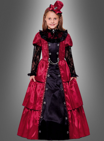Victorian Vampire Girl for Children