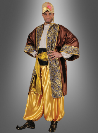 Halif desert son costume