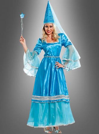 Blue Fairy Women Costume