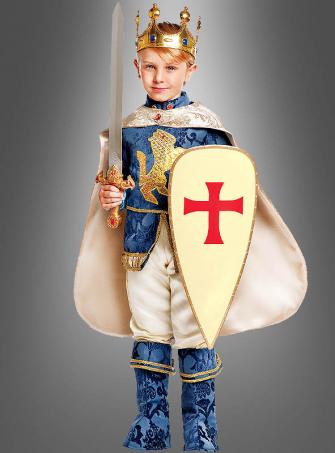 Crusader Costume Lionheart for Children