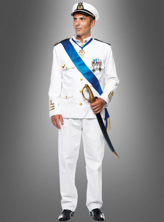 Navy Uniform for Men Deluxe