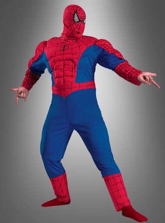 Spider Man Classic Muscle Costume Plus Size