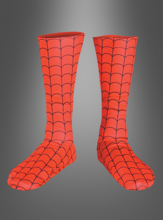 Spiderman boot covers adult