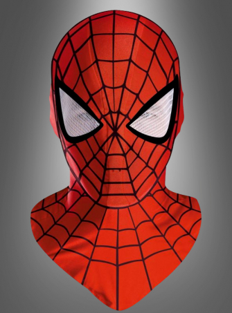 Spiderman Deluxe Mask Adult