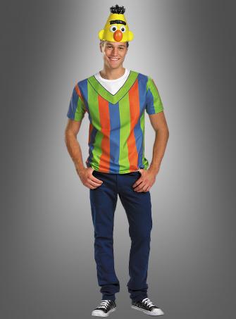 Bert Shirt and mask Sesame Street