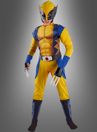 X-Men Wolverine children costume