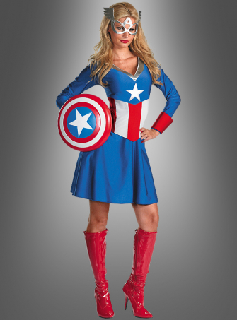 Miss Captain America Costume