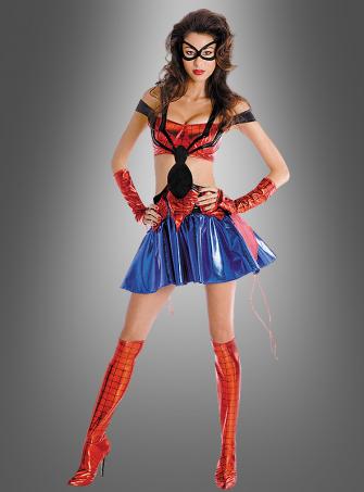 Sexy Spidergirl Prestige Filmkostüm