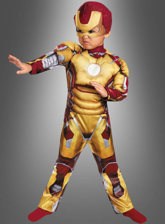 Iron Man 3 Children Costume gold