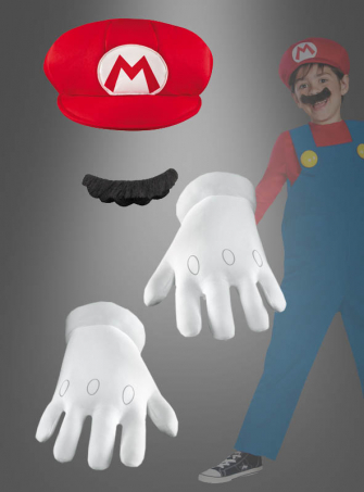Super Mario Accessory Kit for Kids