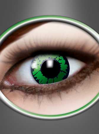 Contact Lenses reptil green