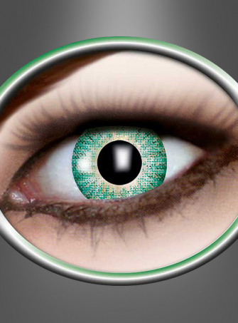 Contact Lenses one tone green