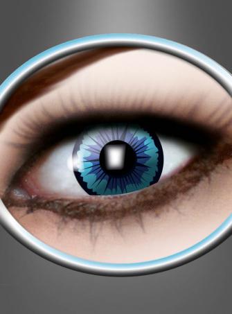 Farbige Kontaktlinse Engel