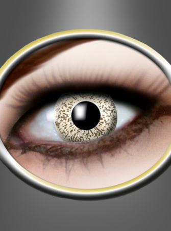 Contact Lenses gold sparkle