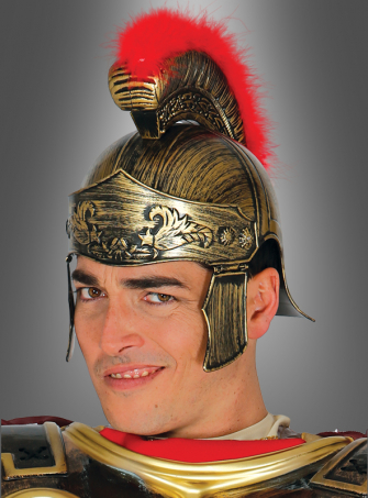 Roman Helmet with Crest
