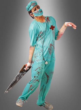 Zombie OP Doktor Kostüm