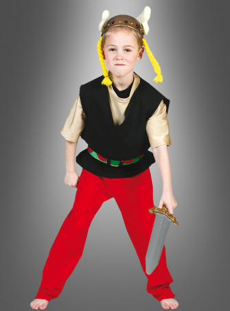 Celtic children costume
