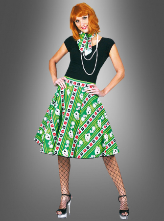 Casino Skirt and Scarf