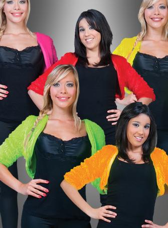 Bolero Felljacke verschiedene Farben