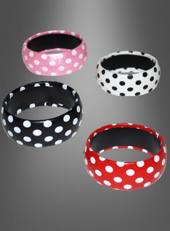 50s bracelet with dots