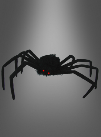 Spinne mit Leuchtaugen 75 cm