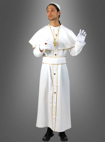 Holy Pope Joe-Hannes costume